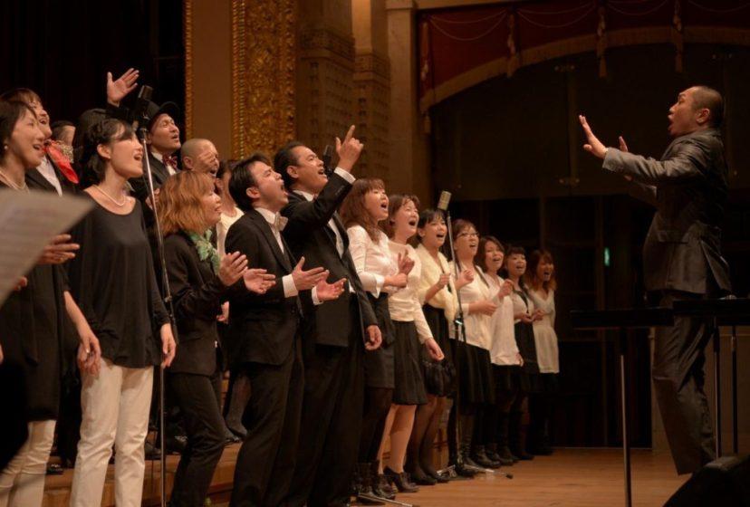 大阪で行われたフェイスのゴスペルコンサート