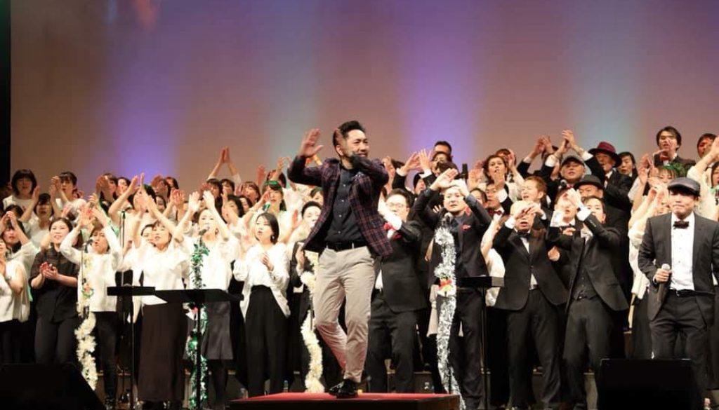 2018年12月15日エル大阪にて行われたフェイスゴスペルクリスマスコンサートの様子