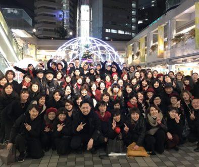 京橋コムズガーデンクリスマスゴスペルイベント