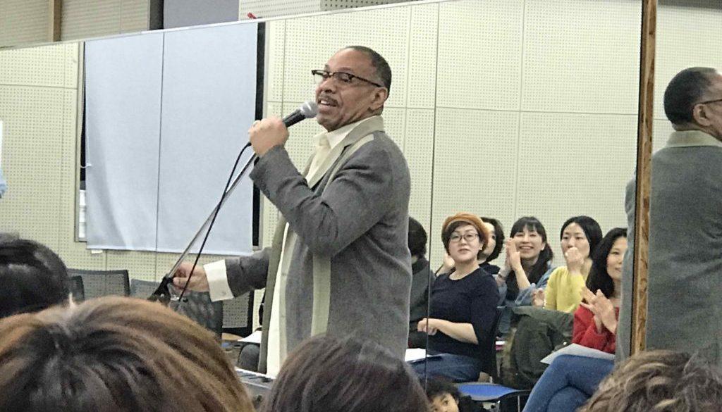 グレゴリー・ホプキンス大阪ゴスペルワークショップの様子