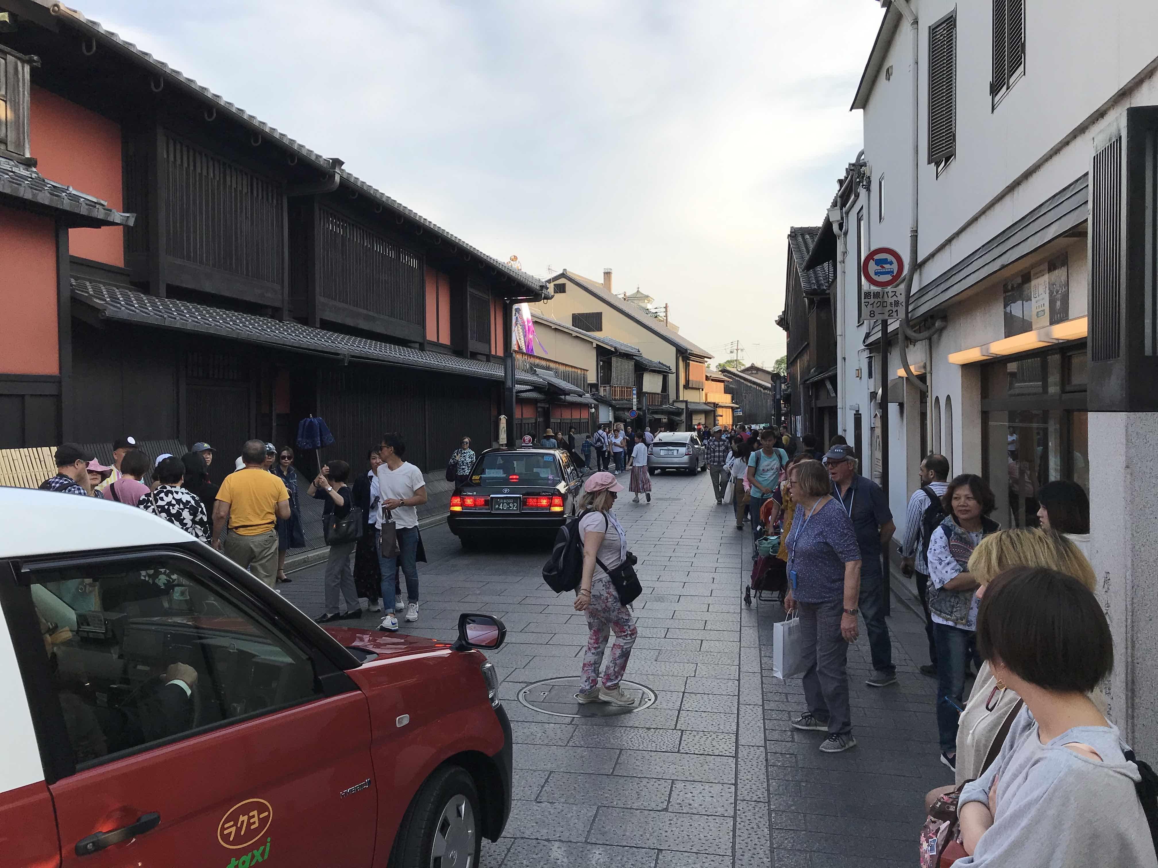 フェイスゴスペル京都ワークショップ後に観光。祇園の写真