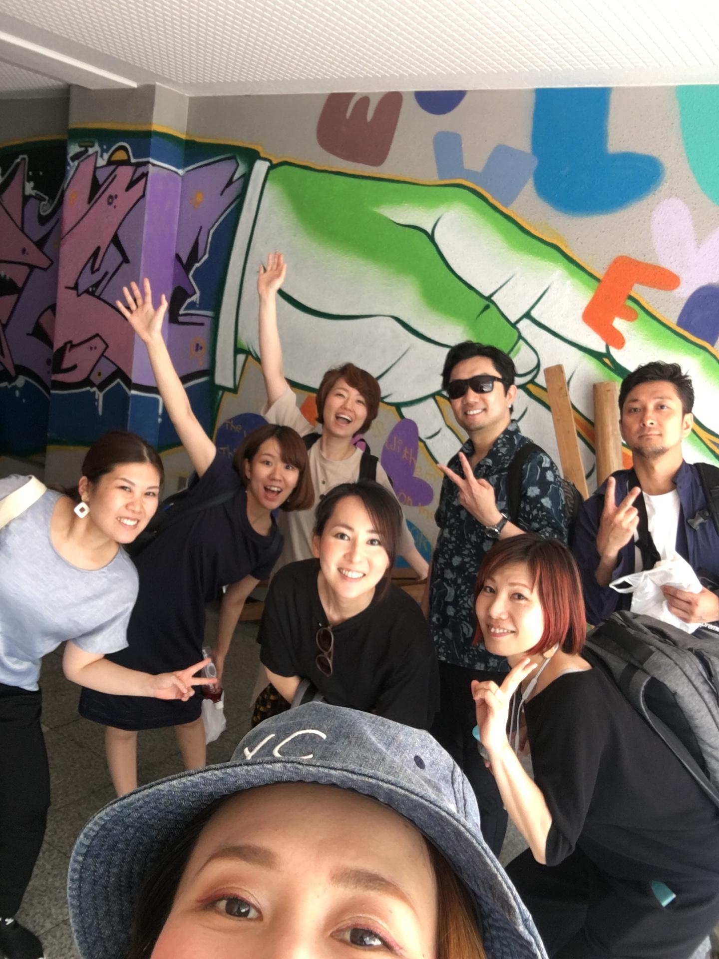 Jacoo Gospel Singers集合写真大阪天王寺にて