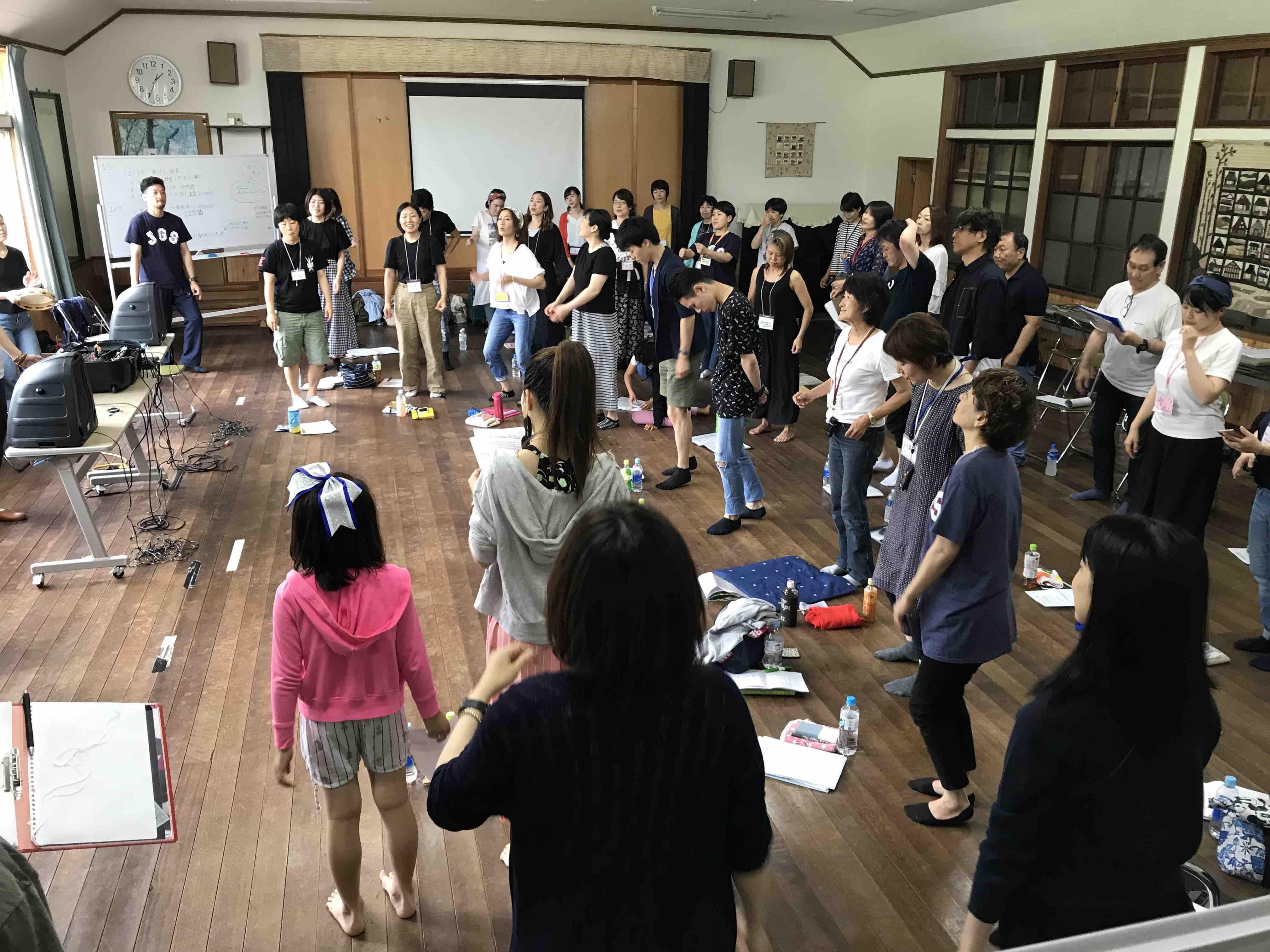フェイスゴスペル夏の合宿/2日目
