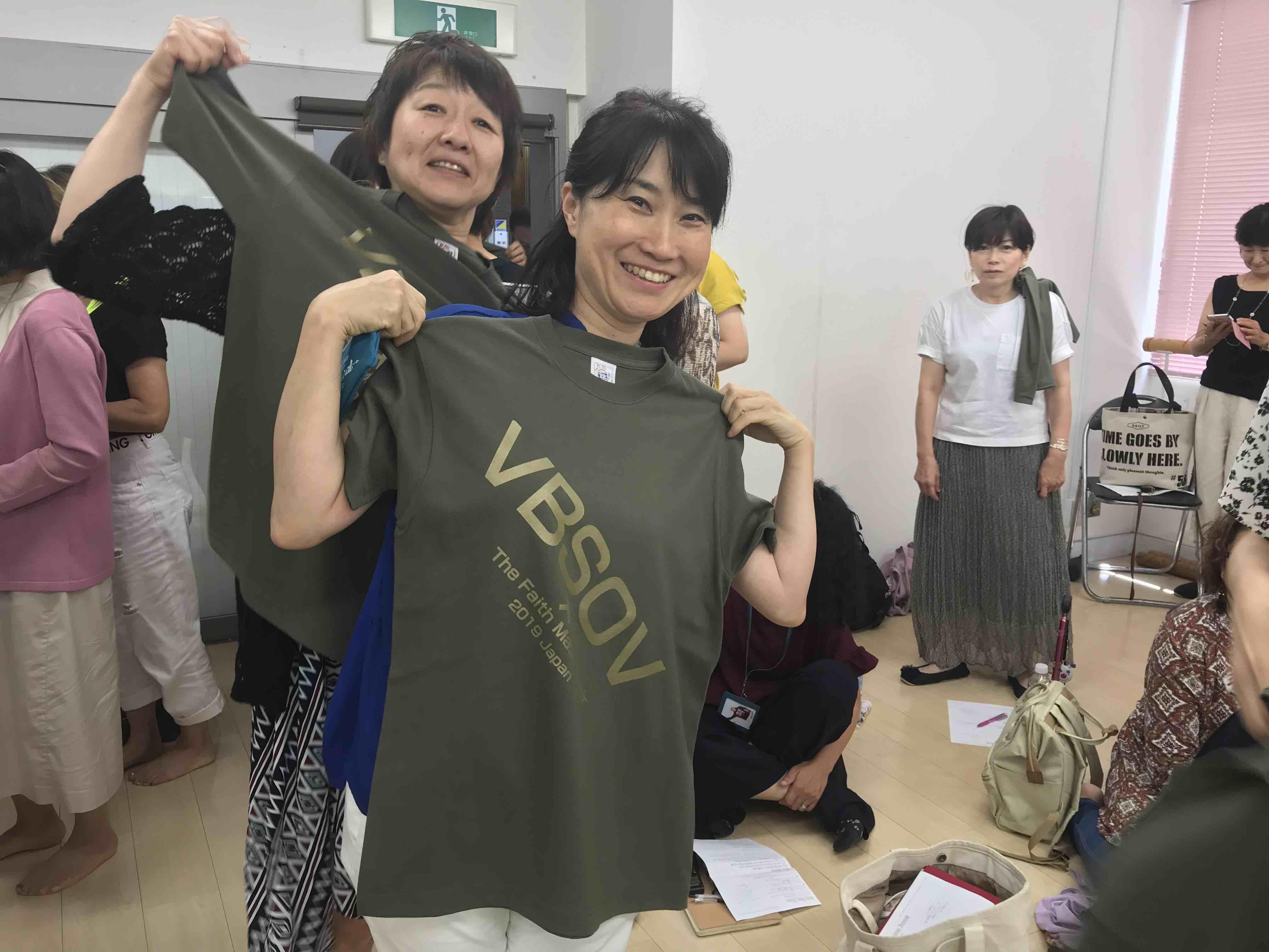 難波なんばで行われたビンセント・ボハナンのゴスペルワークショップTシャツ