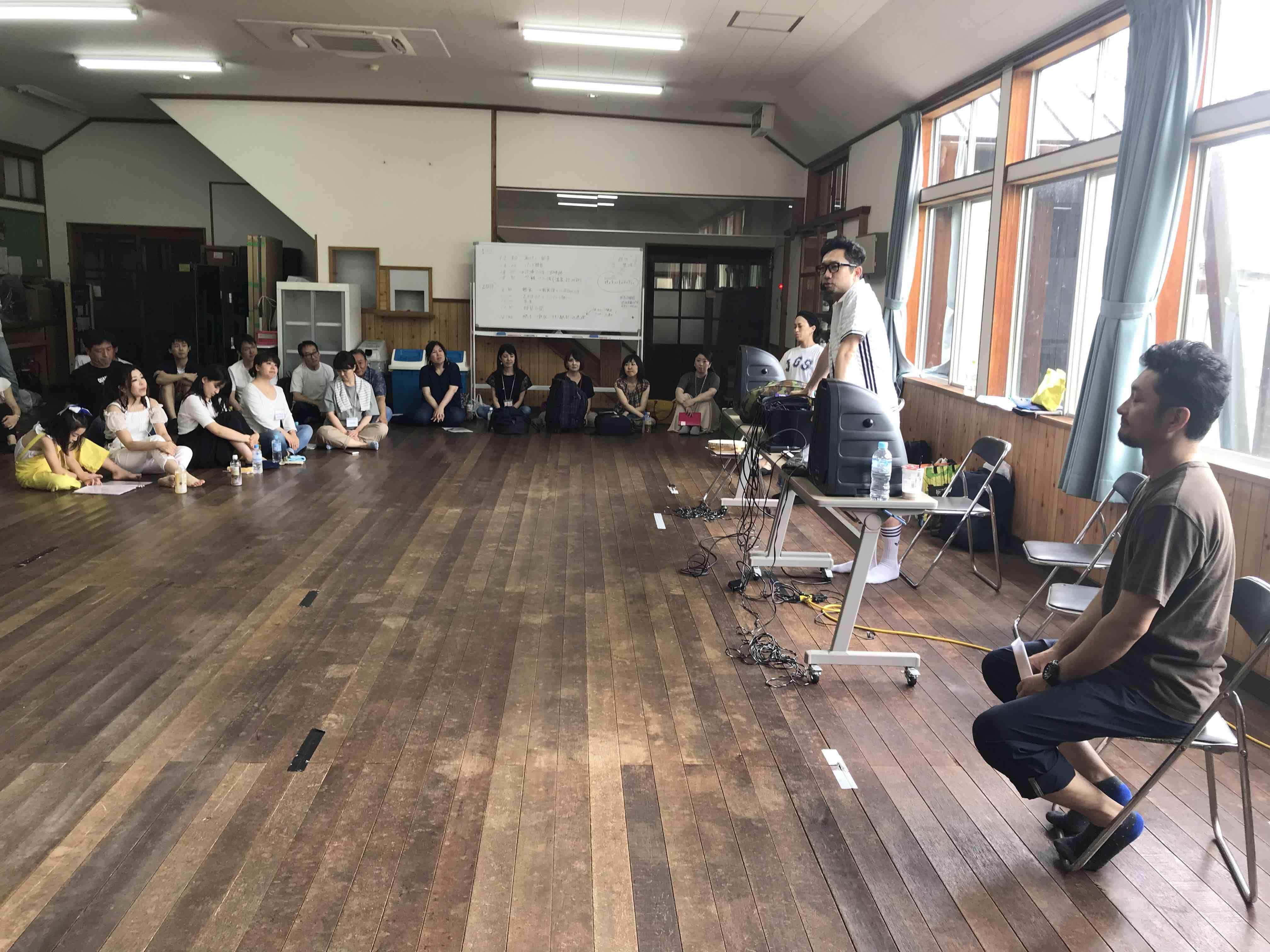 フェイスゴスペル夏の合宿/Katsu先生挨拶