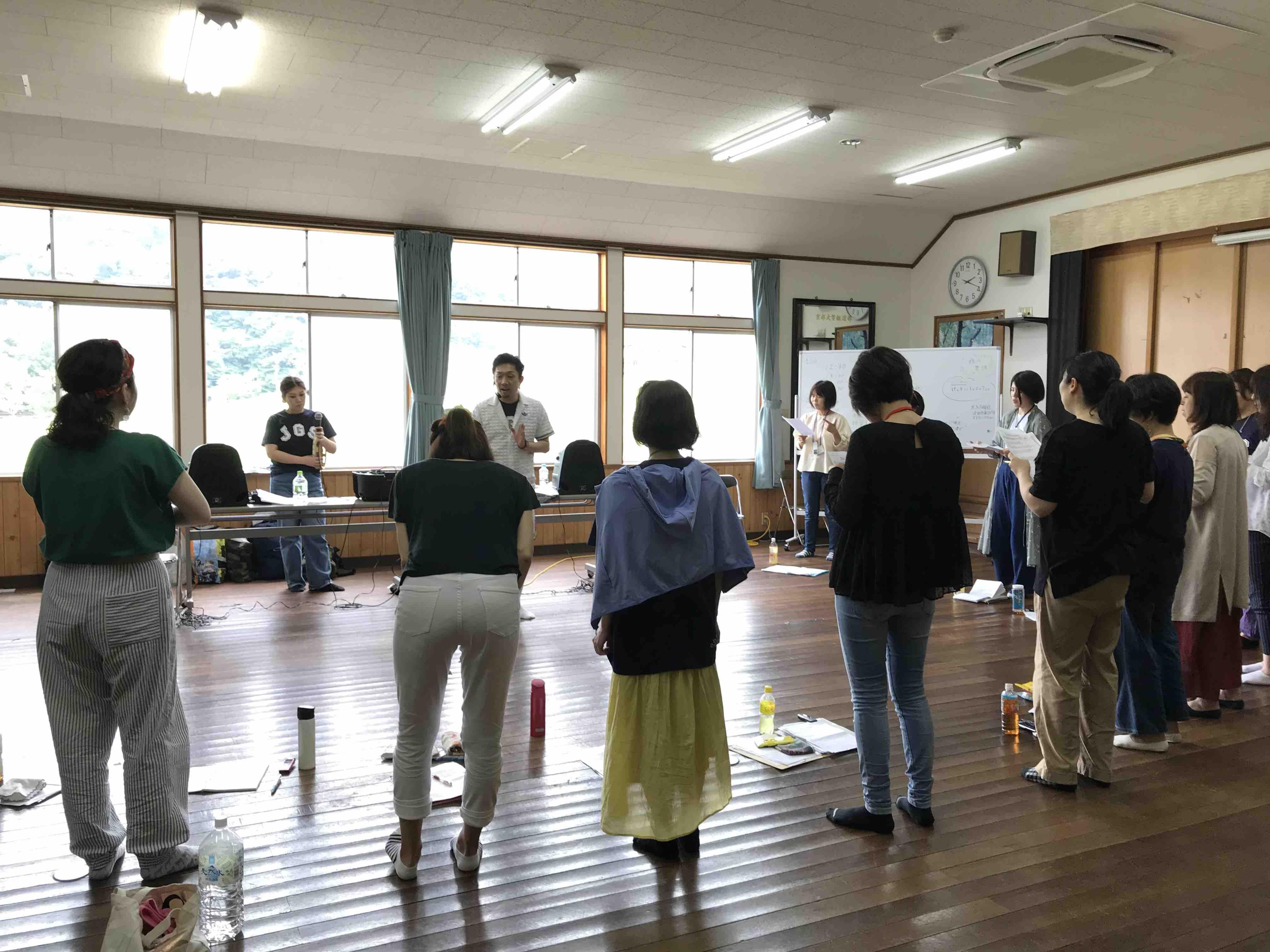 フェイスゴスペル夏の合宿/アルトパート練習