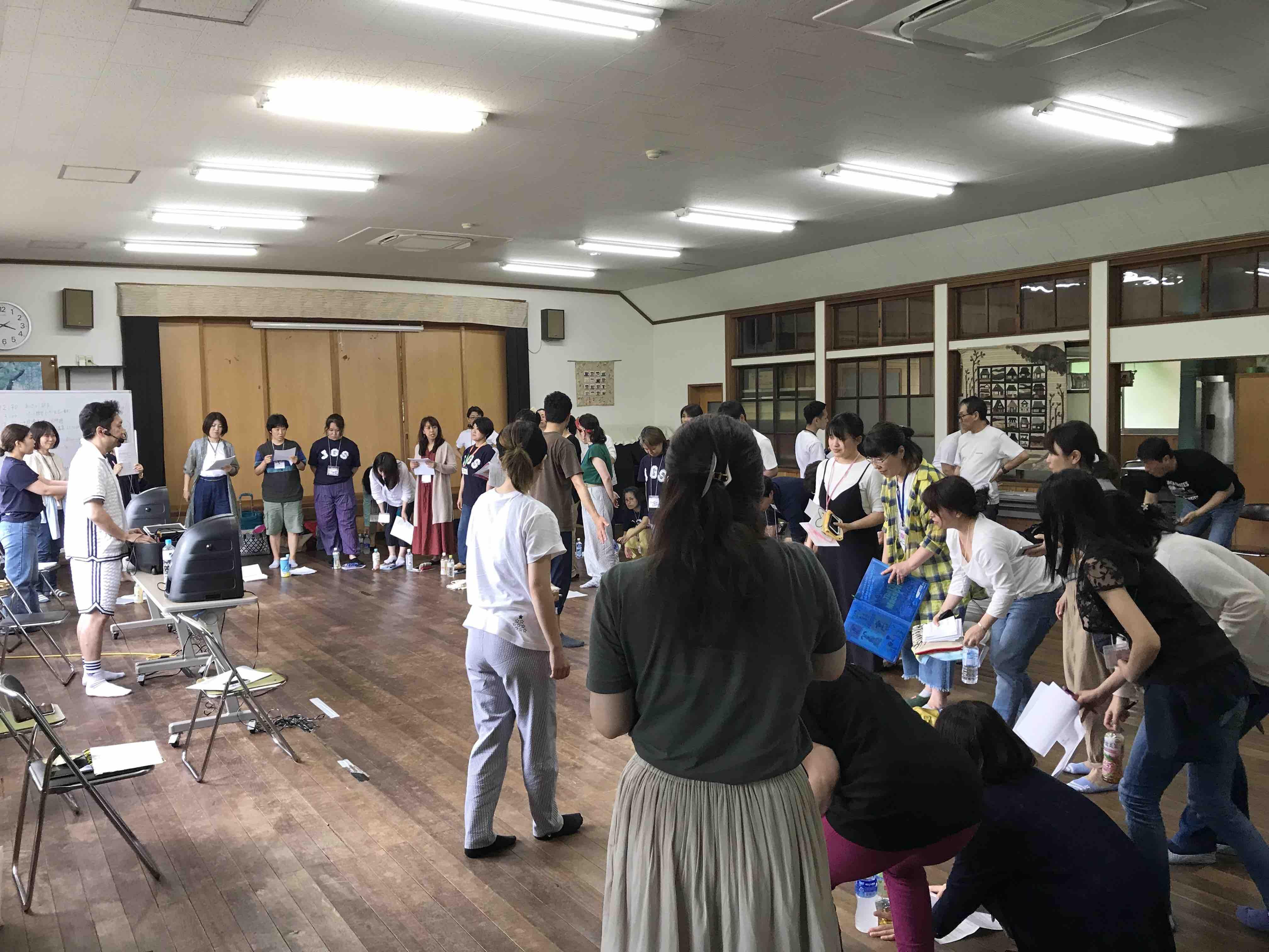 フェイスゴスペル夏の合宿/全体練習