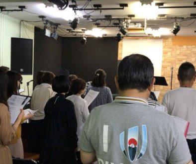 ゴスペル強化練習を天王寺で開催した様子の写真