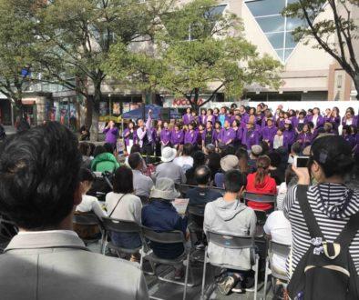 2019年10月20日吹田ジャズゴスペルライブにフェイスゴスペルが出演した時の写真