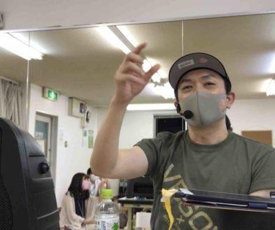 大阪梅田でのゴスペルレッスン再開した様子