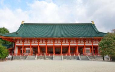 フェイスゴスペル代表が堂本剛さんの京都での平安神宮奉納演奏にコーラスで参加の際の舞台