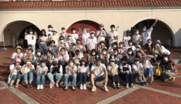 神戸ワイナリーのゴスペルイベント集合写真