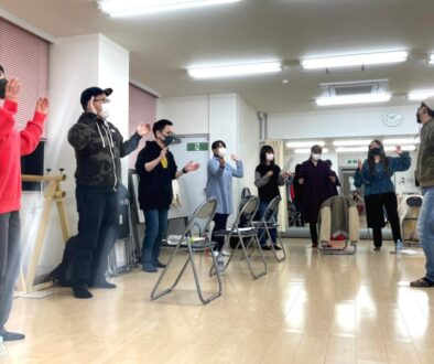 フェイスゴスペル難波若い世代のクラス練習風景写真