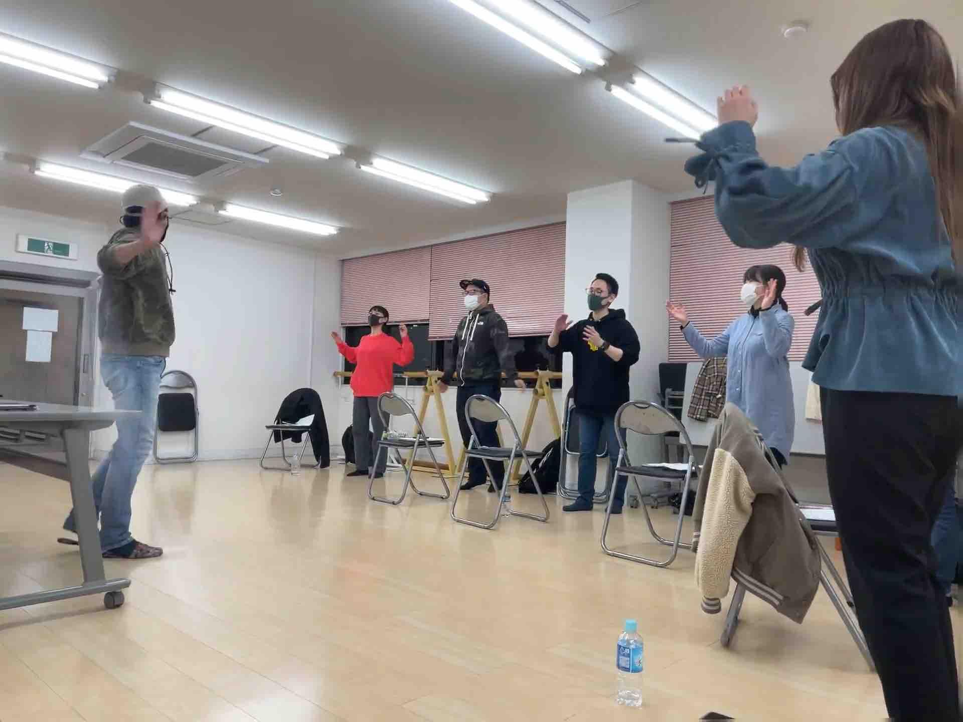 フェイスゴスペル難波夜若い世代のクラス練習風景